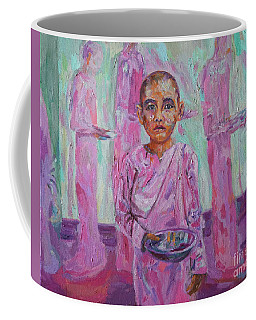 Nun In Waiting Coffee Mug by Michael Cinnamond