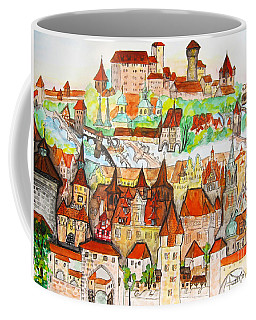 Nuremberg Germany Coffee Mug by Irina Afonskaya