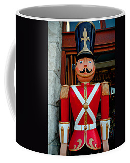 Coffee Mug featuring the photograph Nutcracker Protector by LeeAnn McLaneGoetz McLaneGoetzStudioLLCcom