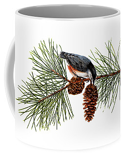 Nuthatch 1 Coffee Mug