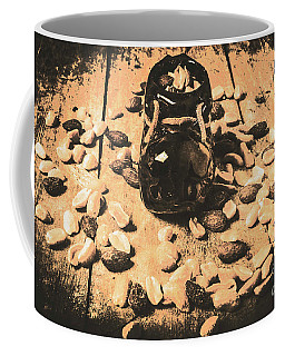 Nuts About Vintage Still Life Art Coffee Mug