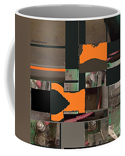 Nuts And Bolts Coffee Mug by Andrew Drozdowicz