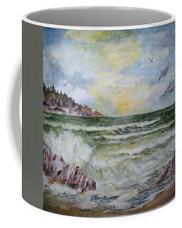 Nw Coast At Sunset Coffee Mug