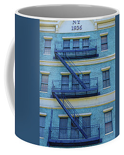 Coffee Mug featuring the photograph Ny 1936 by Marie Leslie
