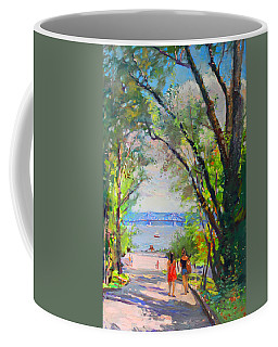 Nyack Park A Beautiful Day For A Walk Coffee Mug