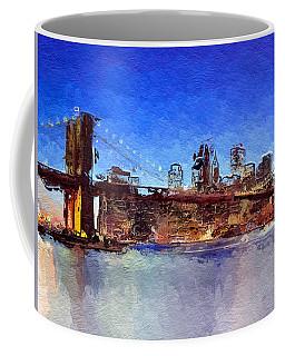 Nyc Abstract  Coffee Mug