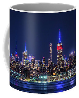Nyc At The Blue Hour Coffee Mug