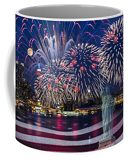 Nyc Fourth Of July Celebration Coffee Mug