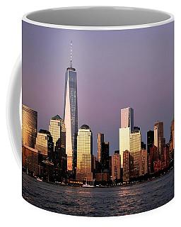Nyc Skyline At Dusk Coffee Mug