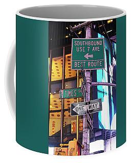Nyc Street Sign Coffee Mug