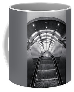 Coffee Mug featuring the photograph Nyc Subway Station by Susan Candelario