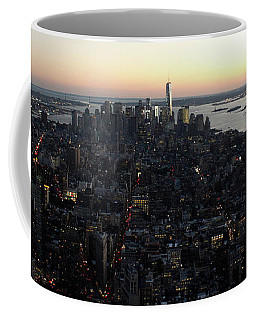 N.y.c. Sunset Coffee Mug