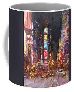 Nyc Times Square Coffee Mug