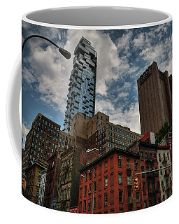 Coffee Mug featuring the photograph Nyc - Tribeca 002 by Lance Vaughn