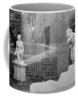 Nyc Whispering Statues Coffee Mug