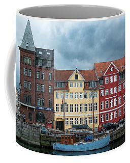 Coffee Mug featuring the photograph Nyhavn 2 Copenhagen by Steven Richman