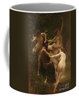 Nymphs And Satyr Coffee Mug