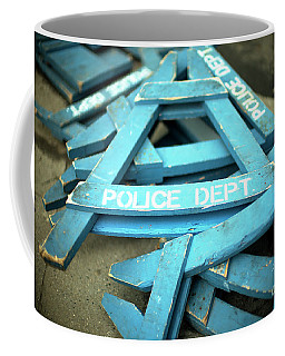 Nypd Blue Coffee Mug by John Rizzuto