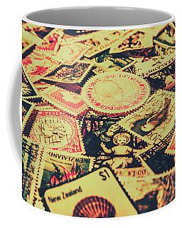 Nz Post Background Coffee Mug