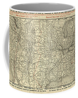 O And M Map Coffee Mug