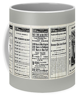 O And M Timetable Coffee Mug