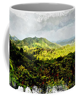 Oahu Landscape Coffee Mug by Kai Saarto