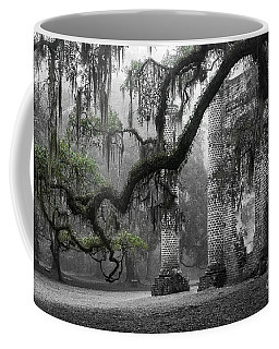 Oak Limb At Old Sheldon Church Coffee Mug