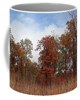 Oak Savanna In Fall Colors Coffee Mug