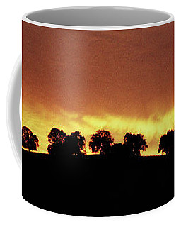Oaks On Hill At Sunset Coffee Mug by Jim and Emily Bush