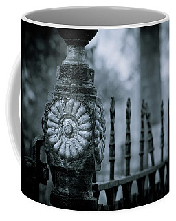 Coffee Mug featuring the photograph Oakwood Cemetery by Linda Unger