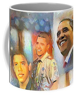 Obama - From Boy Scout To President Coffee Mug