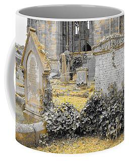 Oblivion. Ivy And Golden Lichen Coffee Mug