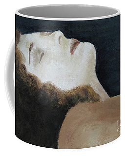 Coffee Mug featuring the painting Oblivion  by Lyric Lucas