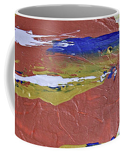 Obscure Orange Abstract Coffee Mug
