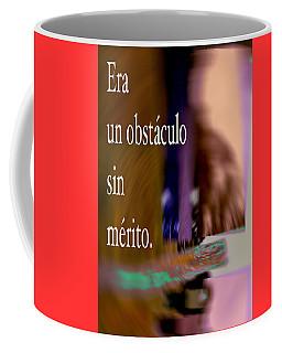 Obstacle-version 2016 James A. Warren Coffee Mug