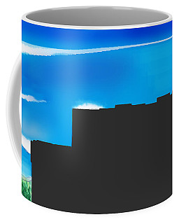 Obstructed View Coffee Mug