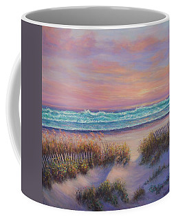 Ocean Beach Path Sunset Sand Dunes Coffee Mug