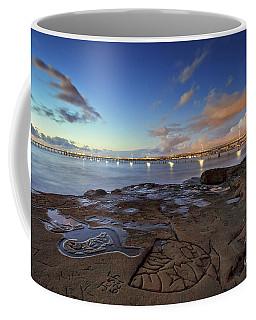 Ocean Beach Pier At Sunset, San Diego, California Coffee Mug
