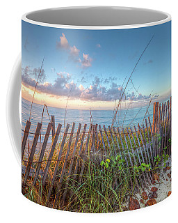 Coffee Mug featuring the photograph Ocean Blues by Debra and Dave Vanderlaan
