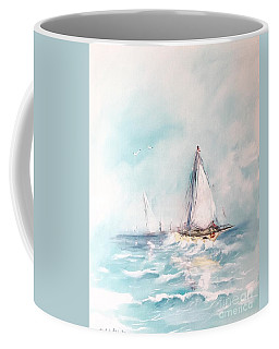 Ocean Blues Coffee Mug