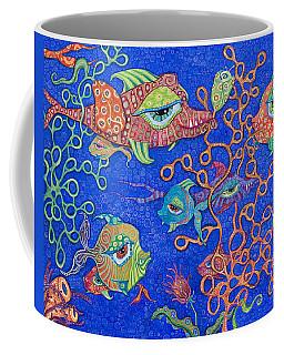 Ocean Carnival Coffee Mug by Tanielle Childers