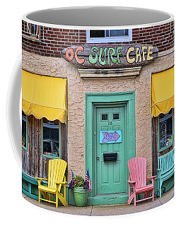 Ocean City N J Surf Cafe Coffee Mug
