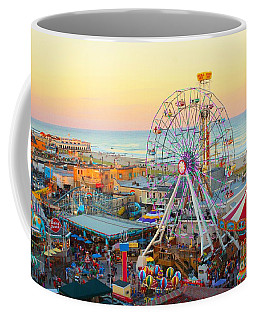 Ocean City New Jersey Boardwalk Coffee Mug