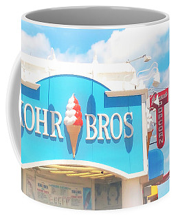 Ocean City Nj Kohr Bros Johnson Popcorn Coffee Mug