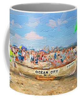 Ocean City Rescue Boat 2 Coffee Mug