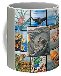 Ocean Collage #1 Coffee Mug