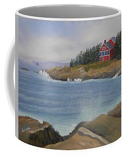 Ocean Cottage Coffee Mug