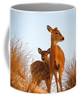Ocean Deer Coffee Mug by  Newwwman