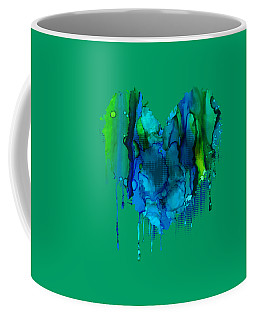 Coffee Mug featuring the painting Ocean Depths by Nikki Marie Smith