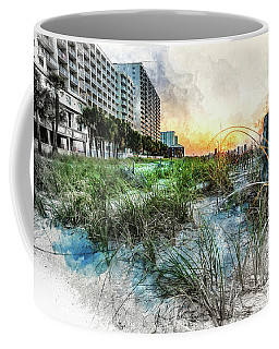 Ocean Drive Easter Sunrise Coffee Mug